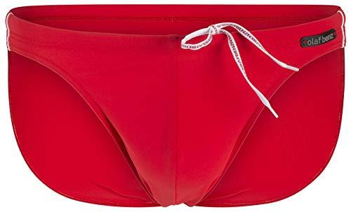 Olaf Benz BLU1200 Sunbrief Baador para Hombre, Rojo (Red 3000), M