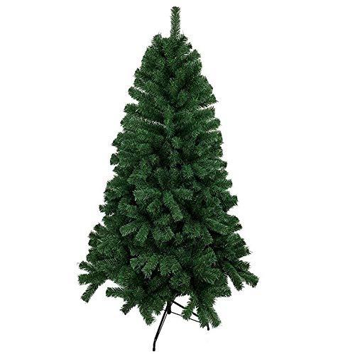 Albero di Natale Albero di Natale 6ft   1.8M Albero di Natale artificiale con 550 punte in PVC ignifugo vergine e supporto in metallo