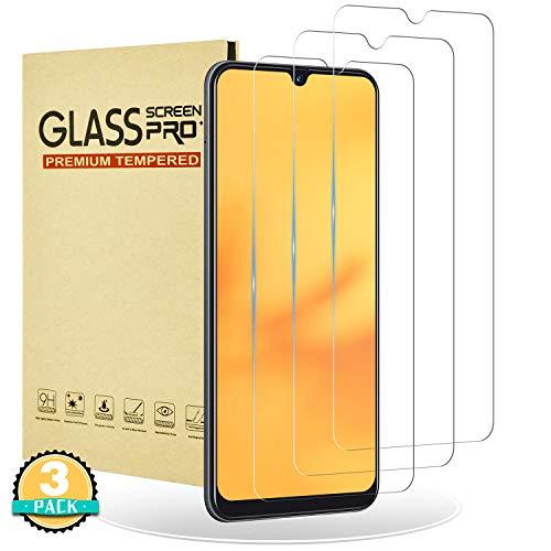 RIIMUHIR Cristal Ultra Templado para Samsung Galaxy A30s,[3 Unidades] Cobertura Total de Vidrio Templado 3D para Samsung Galaxy A30s, Dureza 9H,Anti-Arañazos,Sin Burbujas,HD,Anti-Huellas