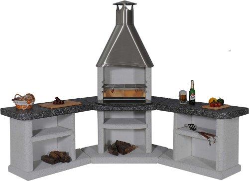 Wellfire Ardea Außenküche Edelstahlhaube