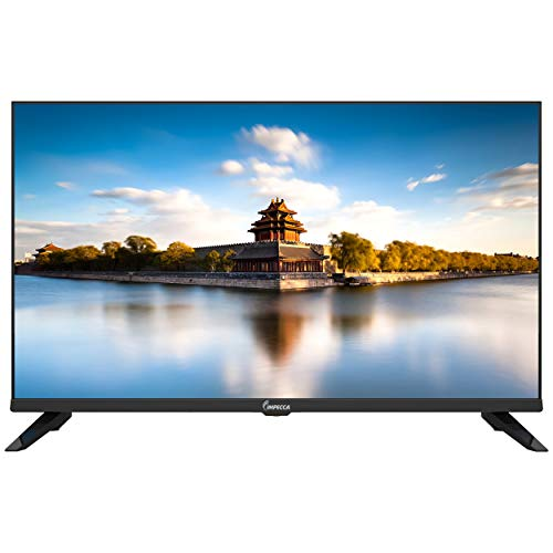 Impecca 32-Inch LED HD TV TL3201H (2020 Model) Energy Star Slim Design 720p, Built-in Speakers with Multiple Imputes HDMI, USB Ports and Remote