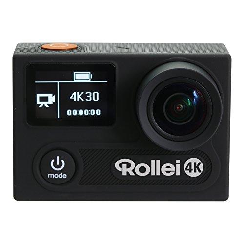 Rollei Actioncam 430 – Leistungsstarker WiFi Camcorder mit 4K, 2K, Full HD – Schwarz - 3