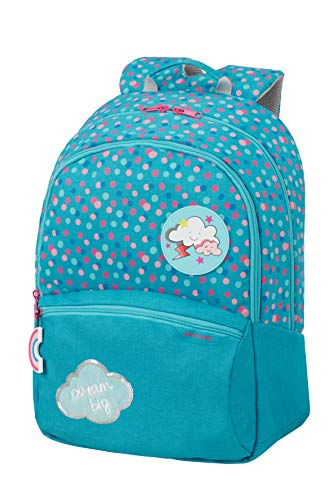 Samsonite Color Funtime - Rucksack L, 42 cm, 24 L, blau (Dreamy Dots)