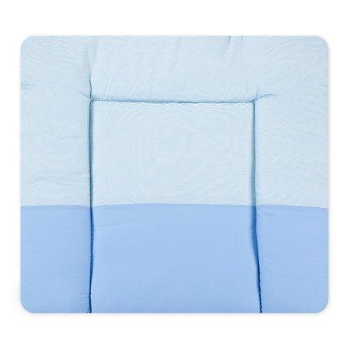 Wickelauflagen Wickeltischauflage Wickelunterlage von Sleeping Bear in Beige, Blau, Rosa, Gelb, Grün, Grau erhältlich, Farbe:Blau