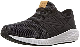 New Balance Boys' Cruz V2 Fresh Foam Running Shoe Black/Magnet 13.5 M US Little Kid [並行輸入品]
