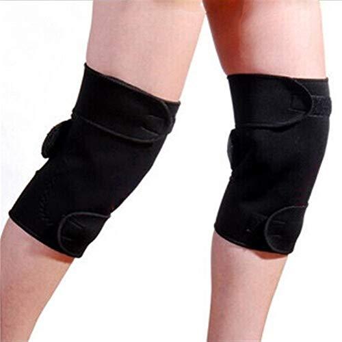 XPOXx 1 Paar Turmalin Selbsterhitzung magnetischer Therapie Knieschützer, Warm Meniskusriss Arthritis Schmerzlinderung Schutz, verwendet for Radsports Skating Fitness Übung oder Arbeits