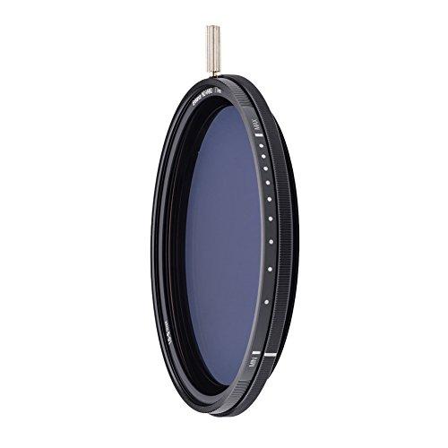 NiSi Filtro ND Variabile 1.5-5 stops (67mm) ND-VARIO Nano-coating in Vetro ottico