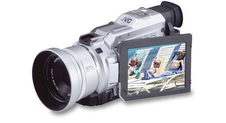 JVC GR-DV2000 Camcorder 2 MP / 10 x Optical zoom Mini DV / SD Card / USB metallic silver