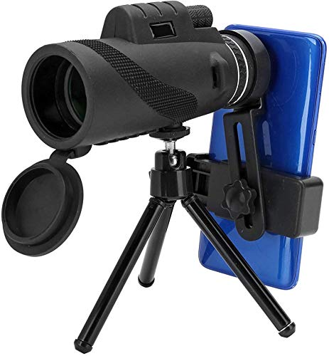 Telescopio monocular, Super Clear 50x60 High Power HD Compact Monocular con zoom de doble enfoque para adultos y niños, Impermeable de alcance bajo Impermeable A prueba de niebla para observación de a