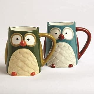 Owl 16 oz. Mug (Set of 2)