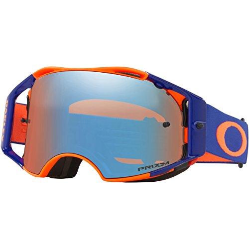 Oakley Herren AIRBRAKE MX Sonnenbrille, Orange, Mittel