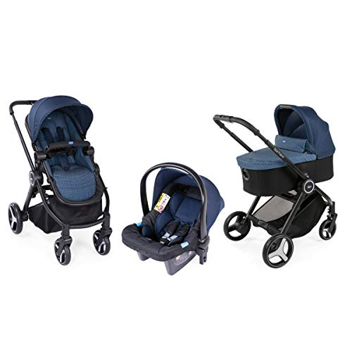 Chicco Trio Best Friend Oxford Kinderwagen, Unisex