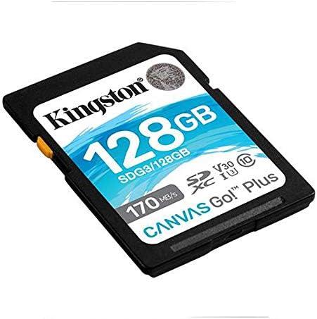 Kingston Canvas Go Plus UHS-I SD Card,128GB