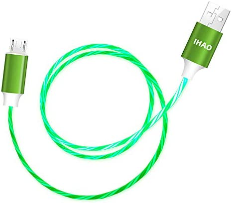 IHAO Micro USB to USB A 2 0 Android Phone Charger Cable Fast Charging High Data Speed Visible product image