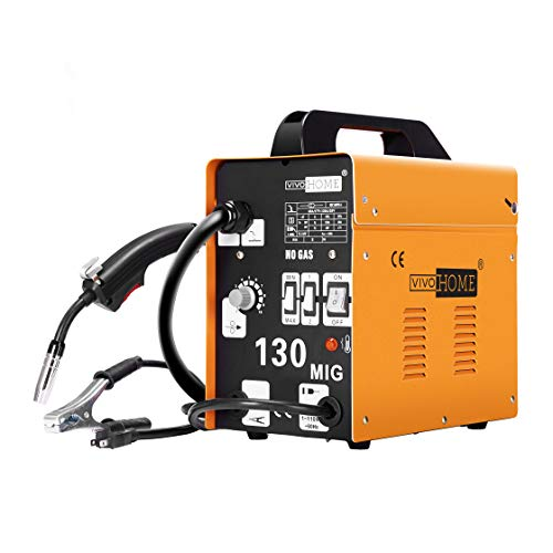 VIVOHOME Portable Flux Core Wire MIG 130 Welder Machine