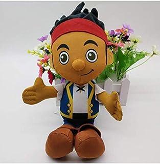 N/T Muñeca De Dibujos Animados, Jake Y Los Piratas De Nunca Jamás Capitán Garfio Jake Izzy Peluches Figura Muñecas De Peluche 29Cm