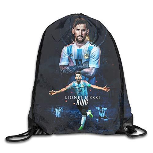 Messm Cinch Taschen Drawstring Backpack Canvas Sporttasche Handtasche