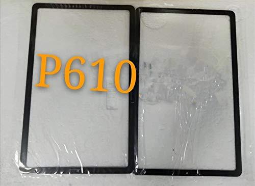 HUOGUOYIN Kit de reemplazo de Pantalla Ajuste para Samsung Galaxy Tab S6 Lite 10.4 PM610 Pantalla táctil de Vidrio Frontal con Herramientas Kit de reparación de Pantalla de Repuesto (Color : Black)