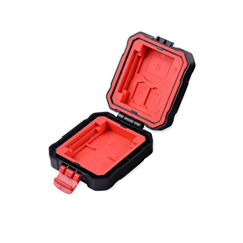 SHOPEE Waterproof and Anti-Dust 9 Slots Memory Card Storage Box