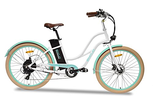Emojo Breeze Electric Bike, 500W 36V Electric Motor Beach Cruiser