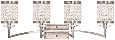 Amazon.com: livex iluminación 50565 – 64 Gramercy 5-Light ...