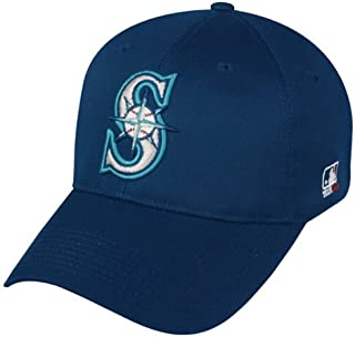 Seattle Mariners ADULT Adjustable Hat MLB Officially Licensed Major League Baseball Replica Ball Cap