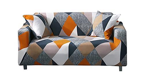 SUWIND Funda de cojín elástica, cojín, sofá elástico Universal para el hogar, Protector de Muebles Lavable con no Espuma para niños, Mascotas