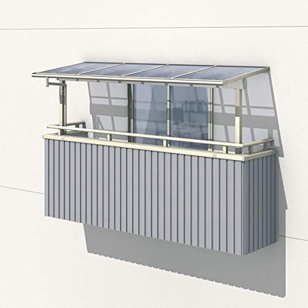 スケルトンそこからデモンストレーション三協アルミ レボリューZ 2.5間×7尺 1500タイプ/関東間/2階用F型/出幅移動収まり/2連結 『テラス屋根』 防汚ポリカ アースブラウン