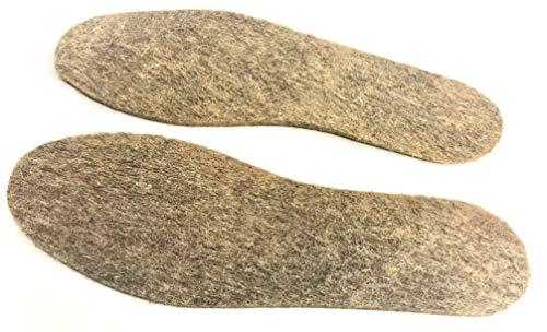 Russland Einlegesohlen aus 100% Schafwolle ca. 3-5 mm (38)
