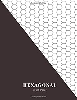 Hexagonal Graph Paper: Student lab Notebook Organic Chemistry Formulas. Biochemistry Notes Book hexagon pattern. Chem laboratory Journal carbon ... a Substance. Large 8,5x11 inches, 120 Pages.