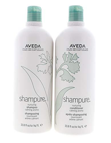 Aveda Shampure Nurturing Shampoo and Nurturing Conditioner Duo 33.8 Ounces Set