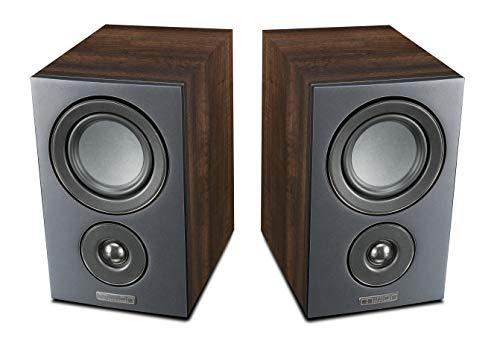 Mission LX-1 Bookshelf Speaker - Walnut Pearl (pair)