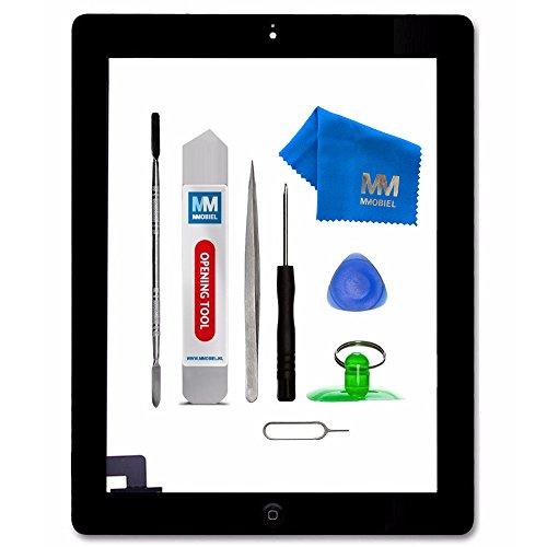 MMOBIEL Digitizer kompatibel mit iPad 2 (Schwarz) 9.7 Inch 2011 Touchscreen Front Display Ersatz inkl Werkzeug