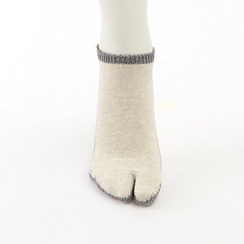 Tabio(タビオ)『メンズ綿サイドライン足袋スニーカー用ソックス(062120220)』