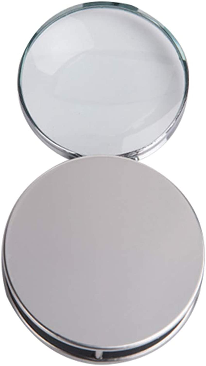 Magnifying Glass - Reading Jewelry Identification Magnifying Glass - Folding - Portable - Metal Case Optical Lens