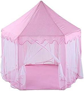 الوردي مسدس لعب قلعة داخلي أطفال تلعب خيمة في بنين بنات مسرح