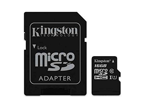Kingston Scheda di memoria MicroSD originale da 16 GB - LG Electronics K8, 16 GB