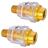 Mini engrasador de aire comprimido 1/4', engrasador de aire comprimido para herramientas de aire comprimido