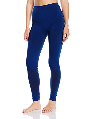 Odlo Pantalon pour Femme Chaud - SMU L Estate Blue - Black