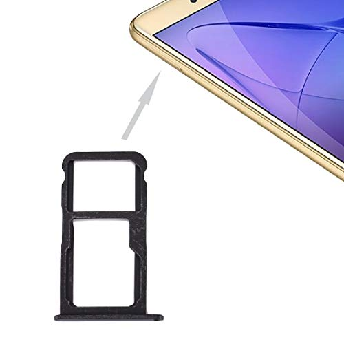 Xuemei de piezas de repuesto de teléfono Titular de la ranura de la bandeja portátil adaptador for Huawei Honor 8 Lite / P8 Lite 2017 bandeja de la tarjeta SIM y SIM / bandeja de tarjeta Micro SD (Neg