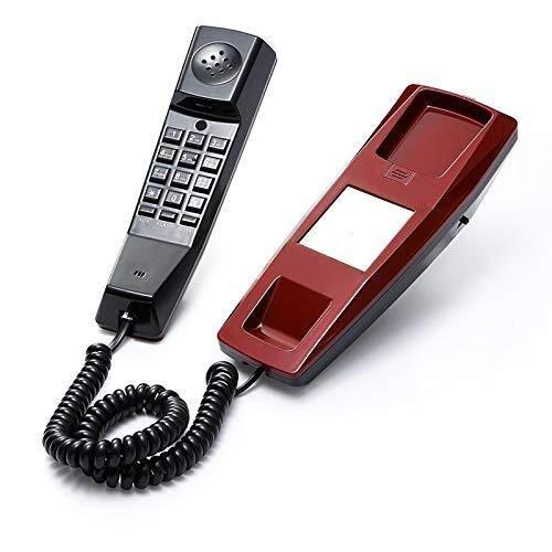 Teléfono LCSHAN Pared, Fijo Inicio/Hotel/Hoteles Baño De Agua Inalámbrico Pequeño Colgadas (Llamada De Emergencia + Llamada Entrante Silencio) (Color : Red): Amazon.es: Hogar