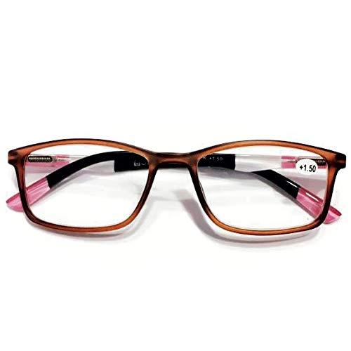 2021年NEWカラー入荷 YGK105BPK BROWN_PINK BONOX ダルトン おしゃれ 老眼鏡 シニアグラス Reading Glasses (2.5)