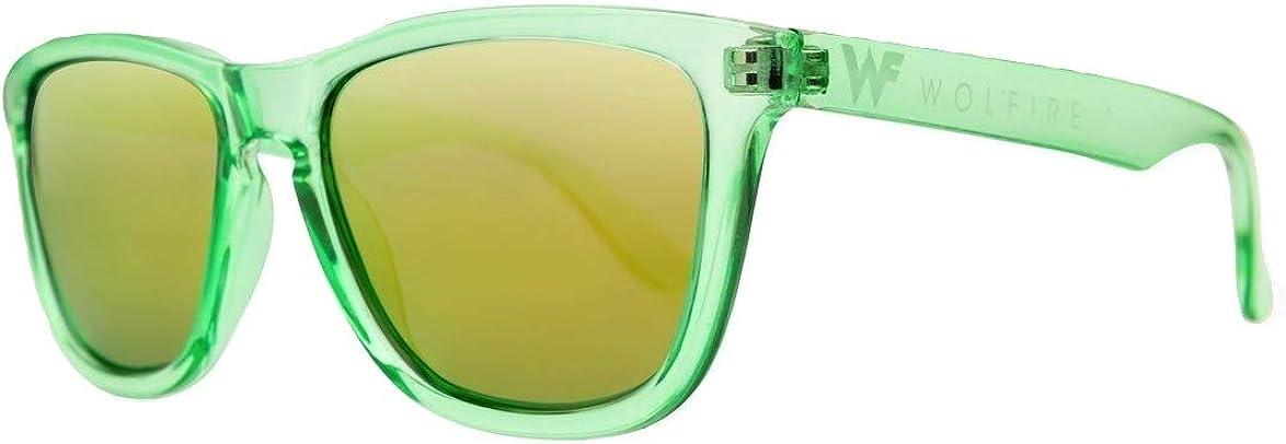 WOLFIRE SC Gafas de sol Polarizadas para hombre y mujer, Filtros UV 400, 100% protección, Sunglasses playa, Surf