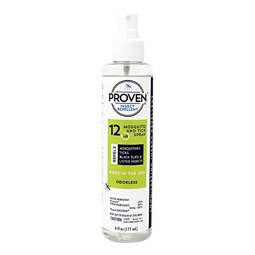 Proven 23630 12-Hour Insect Repellent, 6 oz, Clear