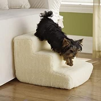 Pet Gear Easy Step Perfect for Bed /& Sofa 2 Steps Ramp for Dogs /& Cats 3 Colors decwang Portable Foam Pet Stairs Max Weight: Up to 25 Lbs 15X11X7.9inch Removable Washable
