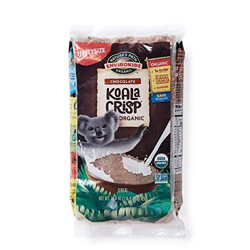 Koala Crisp Chocolate Organic Cereal, 26 Oz Bag (Pack of 6) Gluten Free