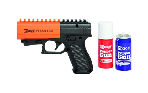 Mace Brand Self Defense Pepper Spray Gun 2.0, Accurate, 20' Powerful Mace Spray Delivery with UV...