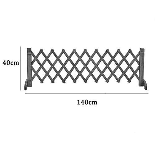 Cerca Cerca plegable de madera portátil, cerca de malla extendida de malla de malla independiente, puerta de seguridad independiente para interiores y exteriores plegable, barrera de seguridad para ma