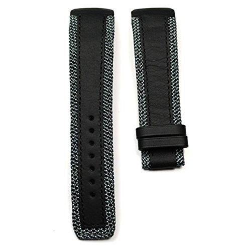 Cinturino in pelle, Colore: Nero, Mod. T610035309,per Orologio Tissot T-Touch Expert Solar Mod. T091420A