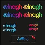 Sticker Mimo Adhesivos compatibles con ELNAGH Kit 1 color, accesorios para caravana, caravana, autocaravana, autocaravana, autocaravana (holográfico)